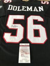 7c280aeec Chris Doleman Autographed Signed Jersey JSA Atlanta Falcons HOF