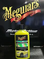 Meguiars Ultimate Wash and Wax 473ml