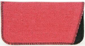 NEW Soft Safety Eyeglasses Glasses Red Case Pouch With Cleaning Cloth 165x84mm