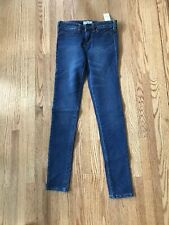 Aeropostale GIRLS size  XS/TP Denim Blue Jeans NWT