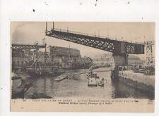 Port Militaire de Brest Pont National Sortie d'un Voilier France Postcard 815a