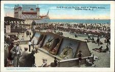 Atlantic City NJ Sand Art c1920 Postcard #2