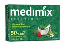 1 x Medimix Ayurvedic 18-Herbs Classic Fast Acting Ayurveda Bath Soap Bar 125 g