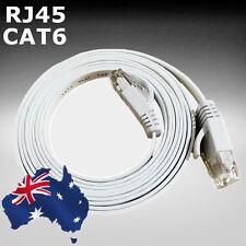 0.5m 1.64ft Flat Network Cable RJ45 LAN Ethernet Cat6 White ESIXW0052