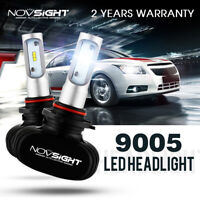 NOVSIGHT 9005 HB3 Car LED Headlight Bulbs Replace Halogen HID White 50W 8000LM