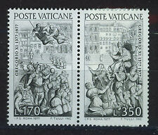 VATICANO VATICAN 1977 MNH SC.613/614 Return of Gregory XI from Avignon