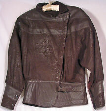 Suede and leather rich chocolate brown casual jacket. PRICED TO SELL!