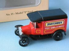 Matchbox ford model t delivery van collectors choice usa long de 70mm boxed
