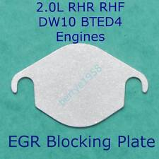 EGR Valve Blanking Plate Peugeot Citroen 2.0 HDi RHR RHF Engine Ford 2.0 TDCi  A