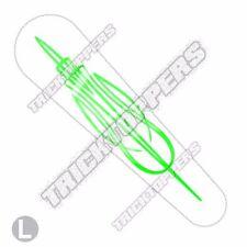 Gas Tank Dash Console Insert Cover 08 - 2016 Harley Streetglide - PINSTRIPE GRN