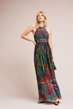 NWT $248 Geisha Designs Kalinka Maxi Dress Anthropologie Sz 10