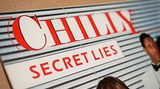 """cHILLY """" Secret Lies """" Vinyl LP Polydor 2372086 sehr RAr Italo Disco"""