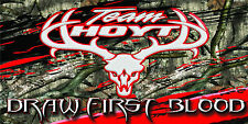 Team Hoyt Banner Full Color Vinyl Bow Shop Display Graphics Sporting Goods!!