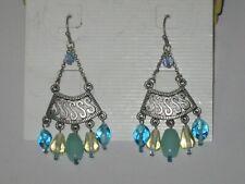 Green & Yellow -Rv $28 Lia Sophia Sundown Earrings - Blue,
