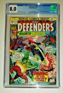 Defenders #15 - CGC 8.0 VF White Pages (Marvel Comics, 1974)