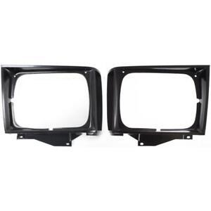 New GM2512127, GM2513127 Headlight Door Set for Chevrolet S10 Blazer 1983-1990
