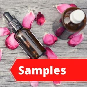 Sample Fragrance Oil | Choice of Oils | 1 ml Amber Mini Dropper Bottle | paraben