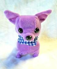 "Battery Operated BARKING WALKING Cute ""Teacup chihuahua' LILIE"