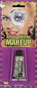 Forum Novelties Makeup - Glitter Gel - Silver