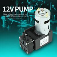 1pc Mini Pompe à vide Vacuum sans huile Pump Oilless DC12V 42W -85KPa 40L/min