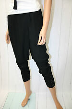 Cream pantalones Hale Pants talla 38 Pitch Black boyfriend baggy nuevo