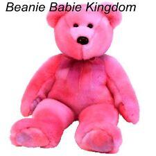 "Ty Buddy * CLUBBY V / 5  *  The Pink  Buddie Teddy Bear  BBOC 14""  9995"