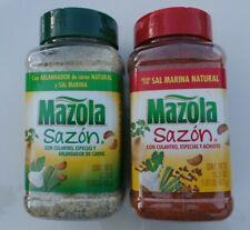 SAZON MAZOLA CON CULANTRO Y ACHIOTE (2 Big Jar 16.25oz) *Puerto Rico*