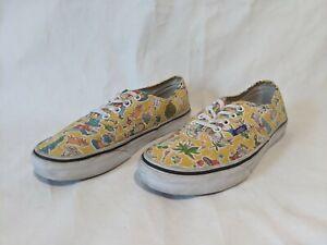 Vans x Alice In Wonderland Men's 6 Women's 7.5 Sneakers Shoes RARE