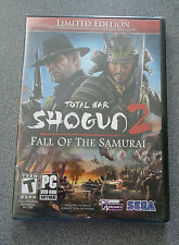 Total War: Shogun 2 Fall of The Samurai - Limited Edition  PC   NEW  W/Poster