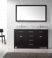 Black Double Bathroom Vanities For Sale | EBay