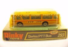 Dinky Toys Gb 293 Swiss PTT bus autobus neuf mint boite boxed