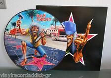 IRON MAIDEN - LA KILLERS LIVE IN LOS ANGELES '99 PIC LP PICTURE DISC W CVR RARE