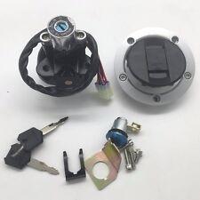 Suzuki GSXR600/750/1000 2004-2015 Ignition Switch Fuel Gas Cap Seat Lock Key Set