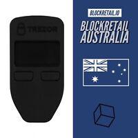 OFFICIAL TREZOR BITCOIN Wallet - BLACK - BTC, ERC20, XRP - CRYPTOCURRENCY 🌟