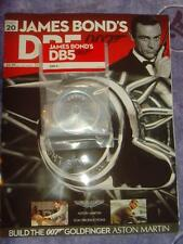 Build your own Aston Martin DB5 1/8th # 20 sealed with magazine