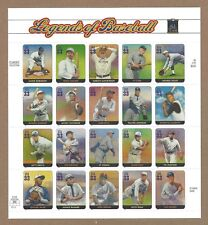 U S Full Sheet Of Mint Stamps Scott #3408 Legends OF Baseball See Info