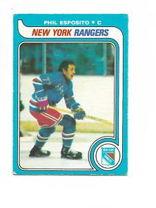 1979-80 O-Pee-Chee #220 Phil Esposito New York Rangers