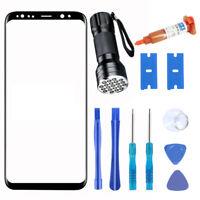 For Samsung Galaxy S8/S8 Plus Front Screen Glass Lens + LOCA UV Glue Repair Kit