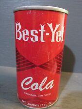 BEST-YET COLA WIDE SEAM STEEL SODA CAN    -[READ DESCRIPTION]-