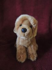 "DOUGLAS CUDDLE TOY Dog Puppy CHOW CHOW RETRIEVER LAB Plush Soft 11"" Brown Tan"