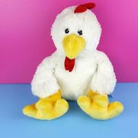 "Kids Of America Plush White Chicken Stuffed Animal 16"" 2012"