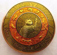 Duncan Geocoin - Chipmunk Edition - Cat Coin