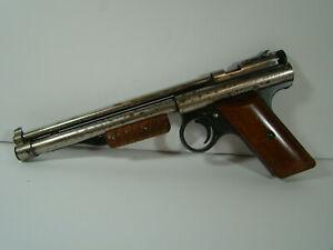 Vintage Benjamin Franklin Model 132 BB Pump Air Pistol Pellet Gun Nice & Works