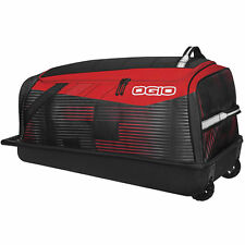 OGIO SHOCK WHEELED BAG MOTOCROSS GEAR BAG STOKE RED LUGGAGE BAG BIKE UTV ATV