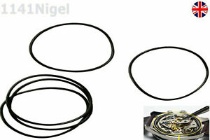 27mm, 28mm, 30mm, 35mm x 1mm O-Ring Watch Back Gasket Rubber Seal Repair NBR