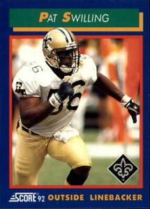 A9250- 1992 Score Football Card #s 1-200 +Rookies -You Pick- 10+ FREE US SHIP