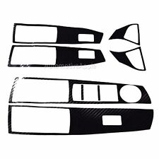 3D Decal Sticker Window Switch Handle Carbon Fabric For Chevy Cruze