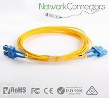 SC - SC SM Duplex Fibre Optic Cable (15M)