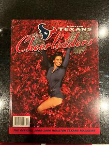 2005-2006 NFL Houston Texans Cheerleaders full color glossy Magazine