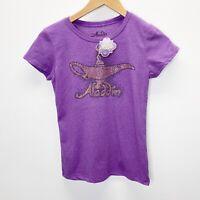 Disney Aladdin -The Broadway Hit Musical NEW Souvenior Lamp Youth Sz L T-shirt